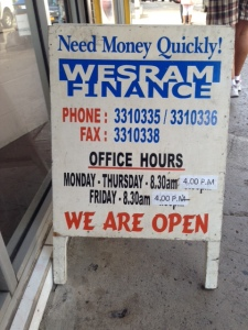 Image: Easy access to cash in Suva