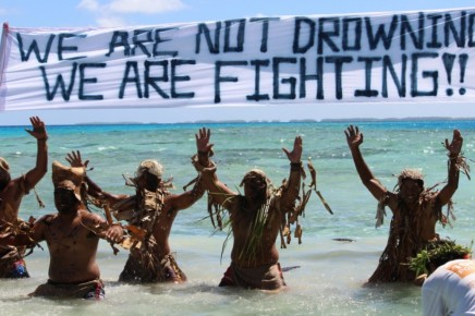 Not Drowning, Fighting…
